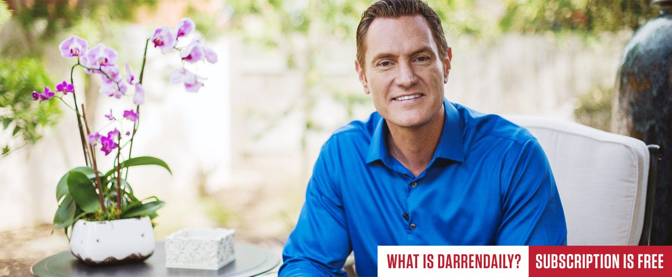 DarrenDaily: Daily mentoring with Darren Hardy